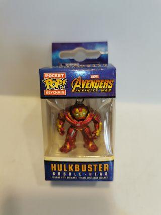Llavero PocketPop Hulkbuster - Marvel