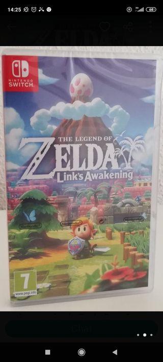 Zelda Link's Awakening Switch Precintado