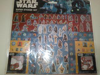 500 pegatinas y bloc Star Wars