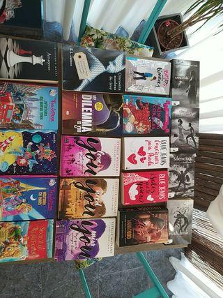 Libros varios títulos infantiles y juveniles amor