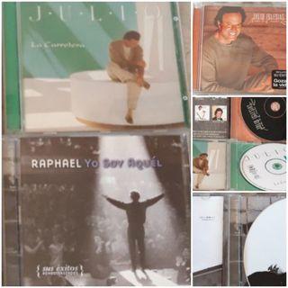 3 CD Julio Iglesias,Raphael