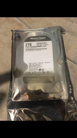 Disco duro 2tb precintado WD black