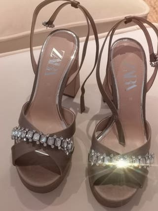 Sandalias joya Zara 39