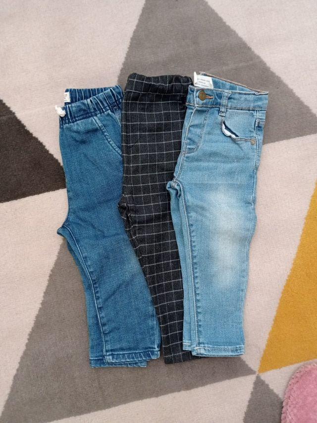 Lote De 3 Pantalones Talla 12 18 Meses De Segunda Mano Por 10 En Astorga En Wallapop