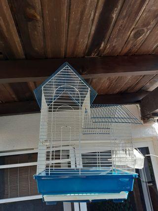 jaula de canario