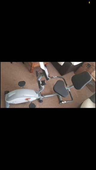 V-fit G-RC Recumbent Magnetic Exercise bike
