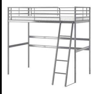 Cama alta IKEA 1pl
