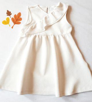 Vestido Blanco niña 4 años como nuevo