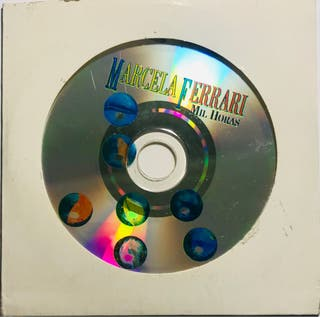 CD Single Marcela Ferrari Mil horas (Calamaro)