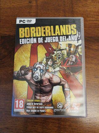 Videojuego PC Borderlands Edición Juego del Año