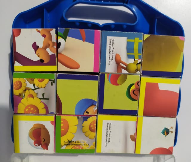 6 puzzles cubo