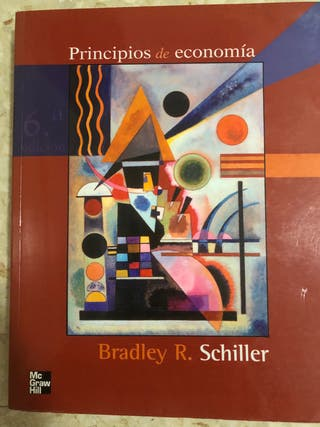 "Libro ""Principios de Economía"""