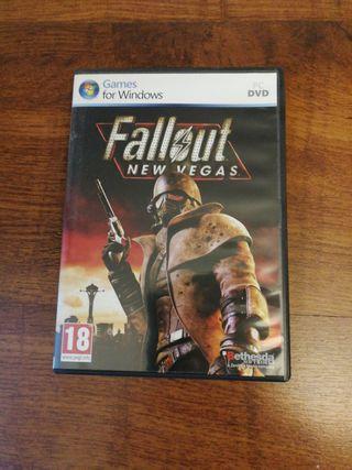 Videojuego PC Fallout New Vegas