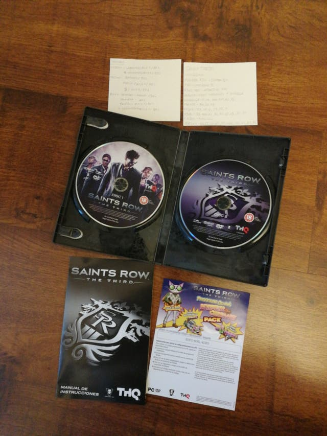 Videojuego PC Saints Row The Third