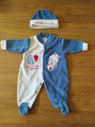 Pijama de niño 0 - 1 mes