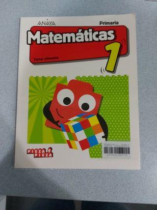 matemáticas 1 primaria tercer trimestre