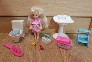 Shelly Potty Training de Barbie 1996