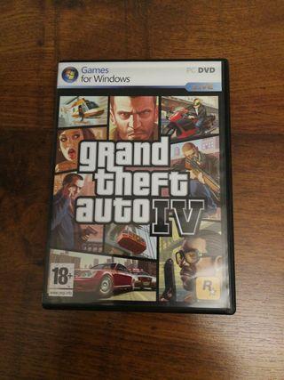 Videojuego PC Grand Theft Auto IV