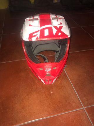 Casco Fox V1 Rojo