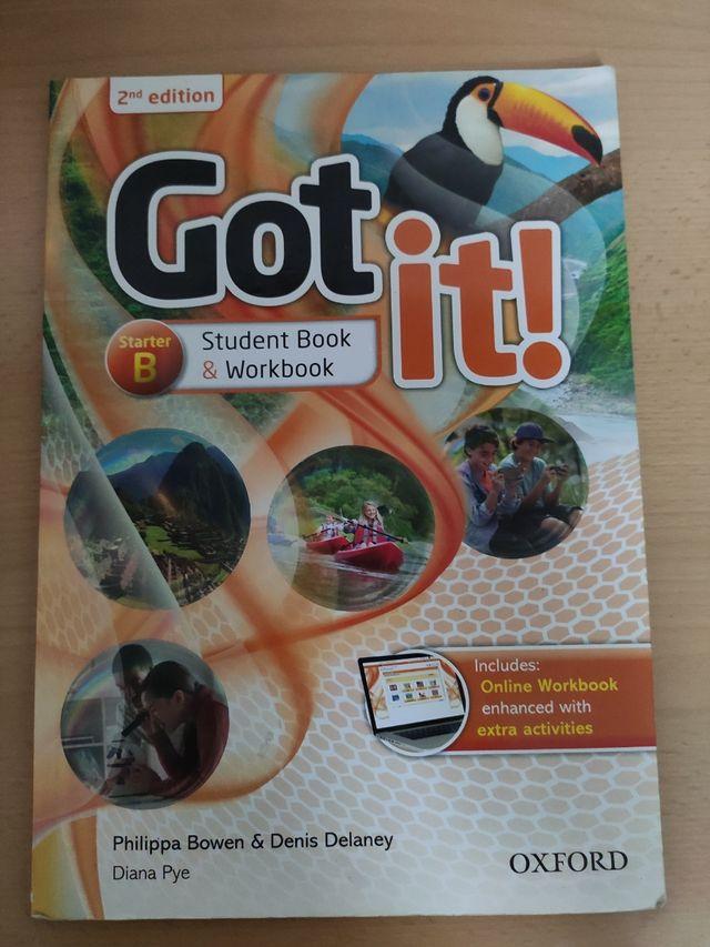 Libro de inglés Got it