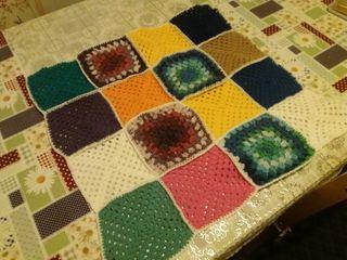 Handmade Crocheted Covers/ Wrap