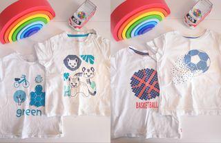 Camisetas Obaïbi bebé
