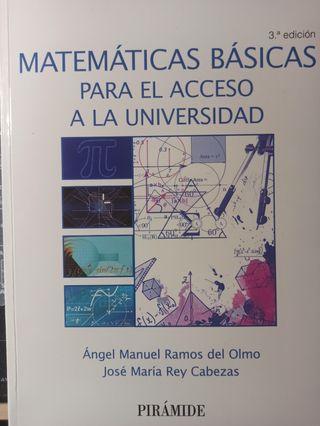 Matemáticas Acceso a la Universidad