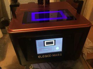 Impresora 3D de resina Elegoo Mars (1 gen)