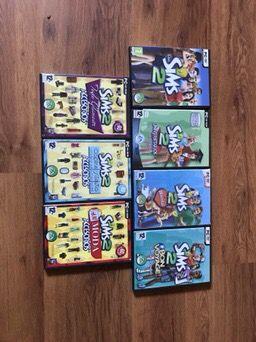 Colección juegos Los Sims 2