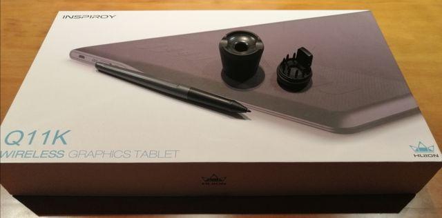 Tablet gráfica Huion Inspiroy Q11K Wireless