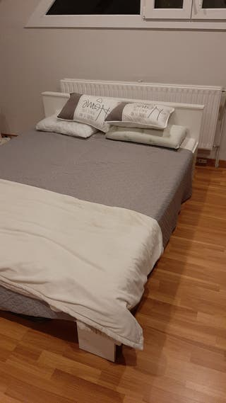 Habitación de matrimonio Ikea de segunda mano en la