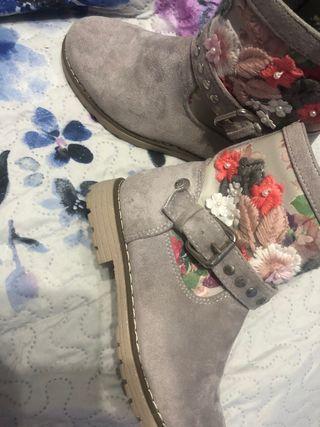 Botines botas niña 31