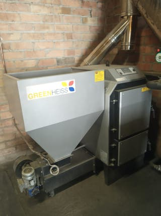Se vende caldera de biomasa