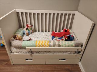 Cuna Ikea bebe modelo Stuva