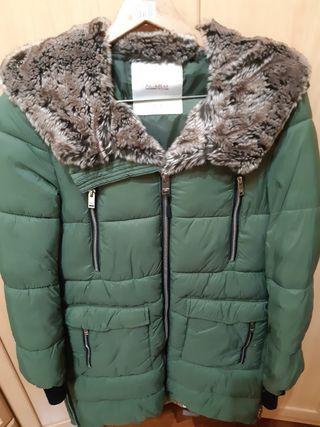 Anorak verde Pull&Bear