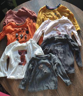 Camisetas bebé m/l