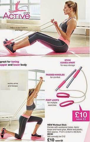 Workout stick