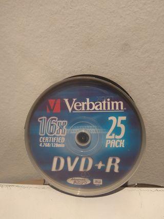 se venden bobinas nuevas de todo tipo de dvds-cds