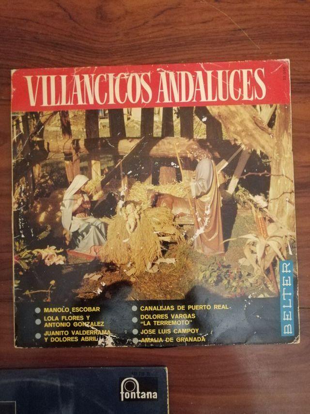 LOTE 3 DISCOS DE VINILO VILLANCICOS NAVIDAD