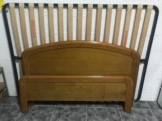 Estructura de cama de 135cm