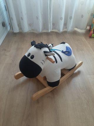 caballo balanceo
