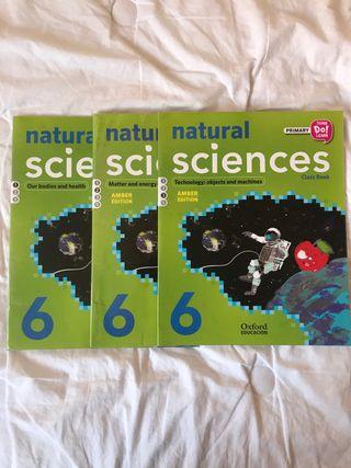 Libro Naturales 6 primaria