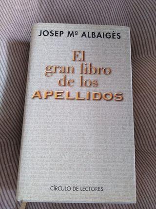 El gran libro de los apellidos