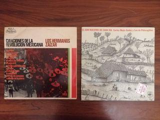 LOTE 2 DISCOS DE VINILO ARTISTAS HISPANOAMERICANOS