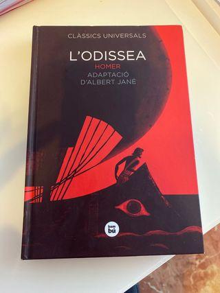 """Libro """"L'odisea"""" en catalán"""