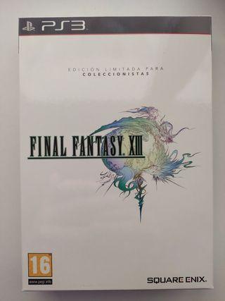 Final fantasy XIII (13) ps3 coleccionista