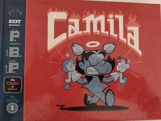 Comic Camila pequeña bestia parda