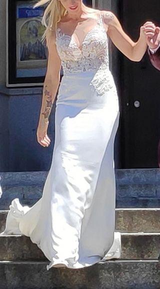 Vestido de novia de la firma Nicole
