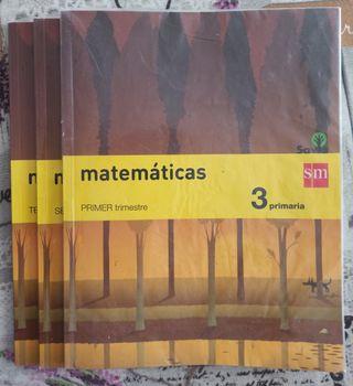 Matemáticas 3 Primaria. Proyecto Savia. Ed. SM