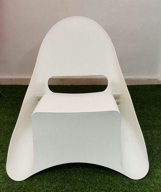 Silla diseño blanca